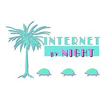 Internet by Night  Photographic Print