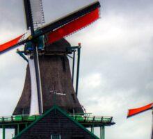 Windmills at Zaanse Schans Sticker