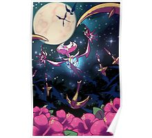 MOON BAT MOON BAT MOON BAT GHOST MOON BAT Poster