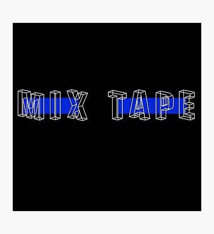 Mix Tape + Photographic Print