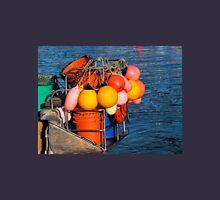 Colourful Fishing Gear - Lyme Regis Harbour Unisex T-Shirt