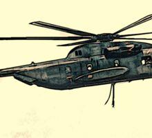 CH-53 artwork Sticker