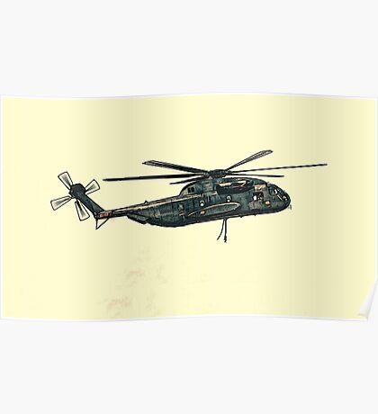 CH-53 artwork Poster