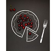 Cherry pie. Photographic Print