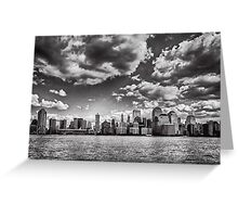 New York from the Hudson Greeting Card
