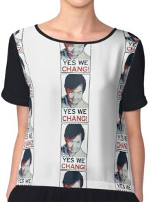 Yes We Chang! Chiffon Top