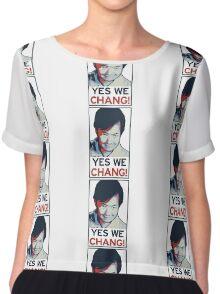 Yes We Chang! Chiffon Top