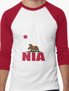New California Republic Men's Baseball ¾ T-Shirt