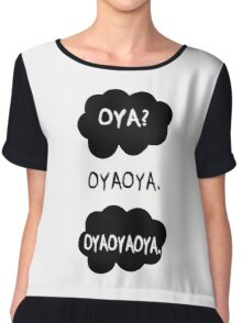 Oya oya oya - Haikyuu!! Chiffon Top