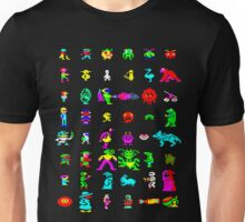 BBC Micro Heroes and Villains Unisex T-Shirt