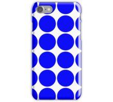 Blue Polka Dots iPhone Case/Skin