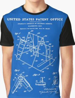 Playground Patent - Blueprint Graphic T-Shirt