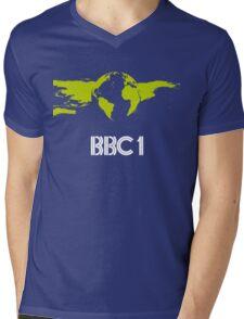 BBC1 - 1980s Mens V-Neck T-Shirt