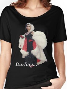 Once Upon A Time - Cruella de Vil - Darling Women's Relaxed Fit T-Shirt