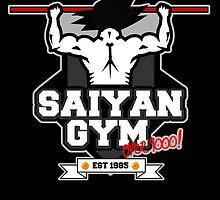 Saiyan Gym by matthewfinnegan
