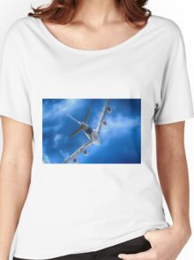 Airbus A380 Underside Women's Relaxed Fit T-Shirt