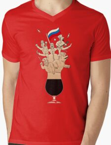 Russian Imperial Stout Beer Foam Mens V-Neck T-Shirt