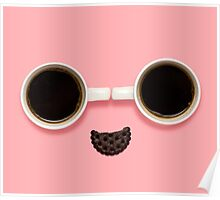 Coffee smile. Poster