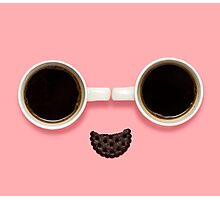 Coffee smile. Photographic Print
