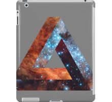 Impossible triangle galaxy iPad Case/Skin