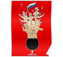 Russian Imperial Stout Beer Foam Poster