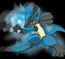 Lucario by dmatthew99