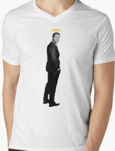 Josh Dallas with a halo Mens V-Neck T-Shirt