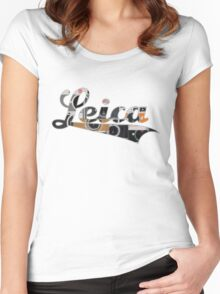 LEICA PICK YOURS Women's Fitted Scoop T-Shirt