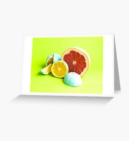 Raw cut. Greeting Card