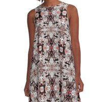 Into the Darkness A-Line Dress