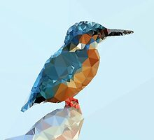 Triangular Kingfisher by JOlorful
