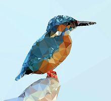 Triangular Kingfisher by JOlorful