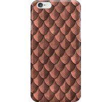 Feather Armor Scales - Copper iPhone Case/Skin