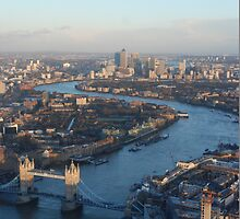 A huge view from The Shard by nuttydesigns
