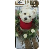 Christmas Winnie iPhone Case/Skin