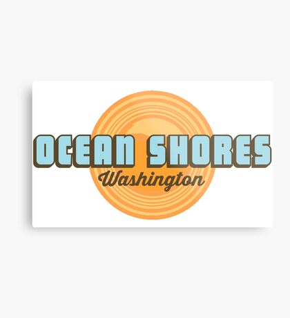 Ocean Shores - Washington State. Metal Print