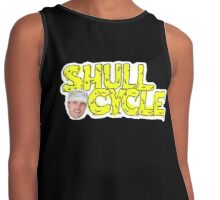 Shull Cycle — *SPECIAL BLACK* pretty face edition  Contrast Tank