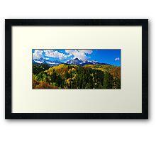 Colorado Autumn Framed Print