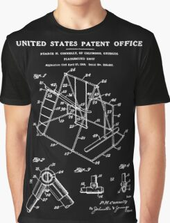 Playground Patent - Black Graphic T-Shirt