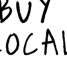 IOWA: Buy Local Sticker