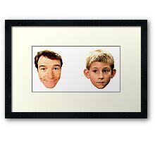 DEWEY & HAL Framed Print