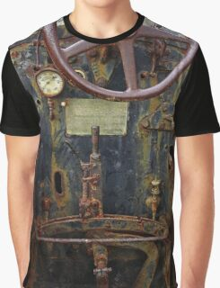 Old Baffalo In Rust Graphic T-Shirt
