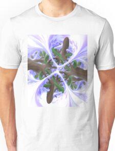 Foggy Dawn (Under The Trees) Unisex T-Shirt