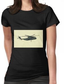 CH-53 artwork Womens Fitted T-Shirt