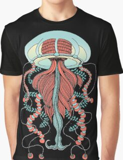 Space Jellyfish (Dr Seuss Inspired) Graphic T-Shirt