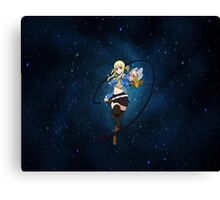 Lucy star Canvas Print