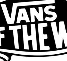 "Vans ""off the wall"" Logo Sticker"