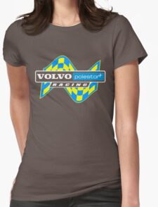 Volvo Polestar Racing Graphic WHT Womens Fitted T-Shirt