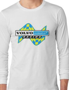 Volvo Polestar Racing Graphic BLK Long Sleeve T-Shirt