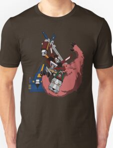 Voltron vs Robeast Cartoon Unisex T-Shirt